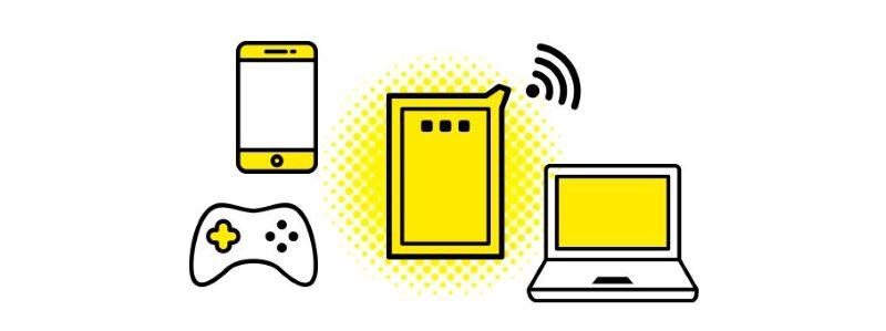 ワールドプランの特長❶:データ量無制限WiFiが使い放題